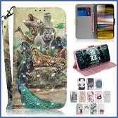 SONY Xperia10 Plus 10 L3 XZ3 3D彩圖皮套 手機皮套 插卡 支架 磁扣 內軟殼 彩繪皮套 皮套