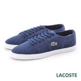 LACOSTE男用休閒帆布鞋-藍色 895