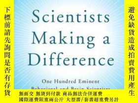 二手書博民逛書店Scientists罕見Making A DifferenceY307751 Robert J. Sternb