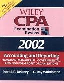 二手書 Wiley CPA Examination Review 2002, Accounting and Reporting: Taxation, Managerial, Governmental R2Y 0471438227