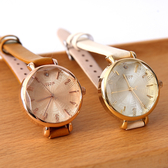 手錶 正韓Julius精緻皮革腕錶 柒彩年代【NEK12】單支