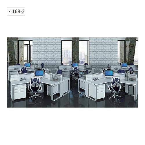 辦公桌 (鋁合金鋼腳) 168-2 (請來電詢價)
