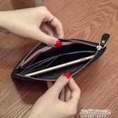 長夾錢包  新款韓版頭層牛皮真皮長款女士錢包軟皮超薄時尚簡約錢夾拉鍊   傑克型男館