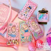 韓版卡通可愛印花軟妹皮革證件包多功能錢包卡包趣味糖果色小包   潮流前線