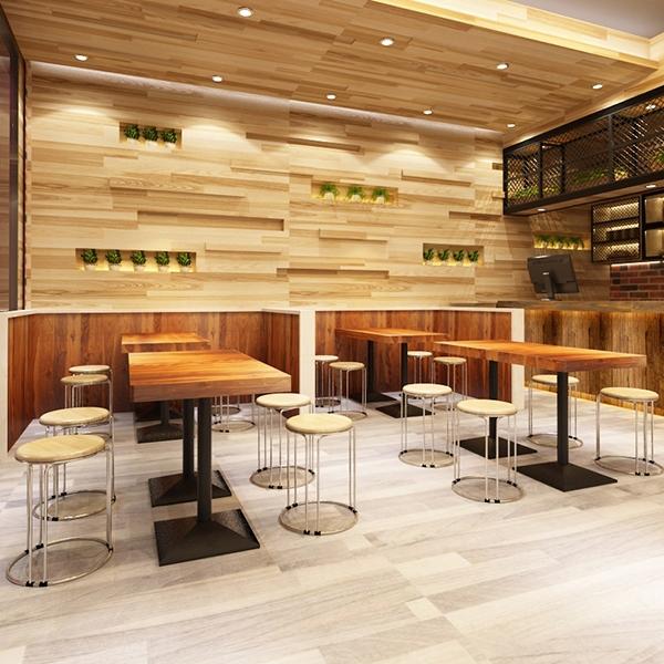 凳子彩色時尚圓凳子塑料實木鋼筋凳加厚餐凳簡約家用凳子 晴天時尚