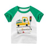 小狗開貨車短袖T恤上衣 T-shirt 童裝