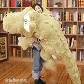 鱷魚抱枕公仔毛絨玩具可愛懶人長條枕睡覺抱布娃娃女孩玩偶「梦露时尚女装」