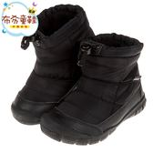 《布布童鞋》日本IFME黑色防潑兒童機能短靴(15~19公分) [ P8N512D ]