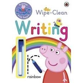 【粉紅豬小妹.擦寫練習書】WIPE-CLEAN WRITING #附筆
