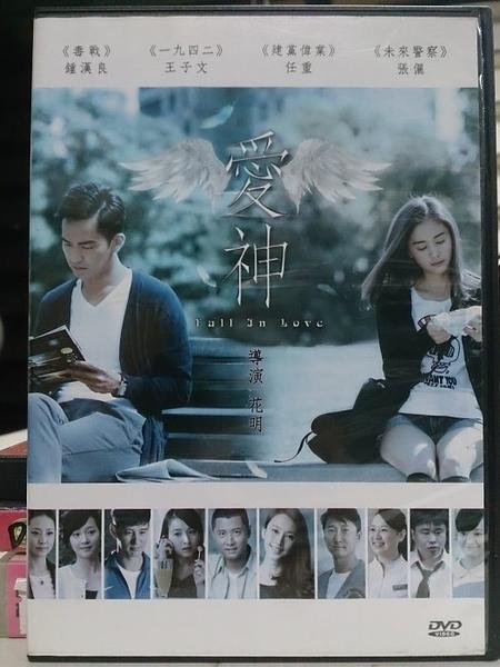 挖寶二手片-T02-343-正版DVD-華語【愛神】-鍾漢良 王子文 任重 張儷 吳昕(直購價)
