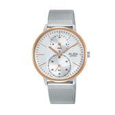 日本ALBA 雅柏  新上市甜美風女錶VD77-X007KS A3A016X1 米蘭帶銀色