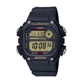 CASIO手錶專賣店 卡西歐 DW-291H-9A 男錶 電子錶 運動風格 防水200米 礦物玻璃 LED燈光 橡膠錶帶