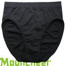 【Mountneer 山林 女 銀纖無縫內褲 黑色】11K86/內褲/運動