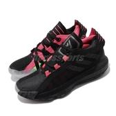 adidas 籃球鞋 Dame 6 黑 粉紅 女鞋 大童鞋 運動鞋 Damian Lillard 【PUMP306】 EH2791