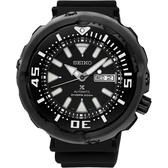 SEIKO 精工 PROSPEX Scuba 水中蛟龍機械錶/手錶-黑/51mm 4R36-05S0SD(SRPA81J1)
