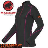Mammut長毛象 1041-06920-0001黑 女頂級保暖排汗衣 Jungfrau Longsleeve機能服/Eiger Extreme 極限快乾