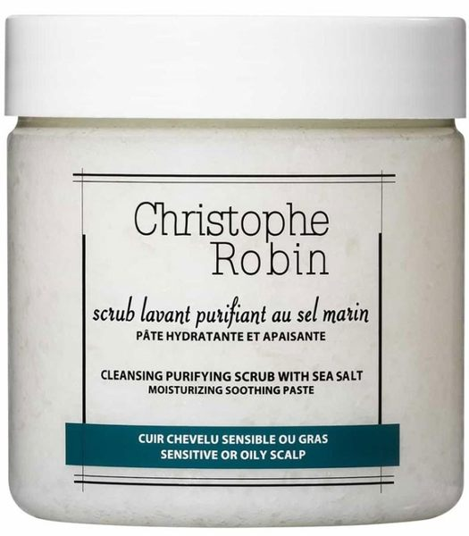 CHRISTOPHE ROBIN 海鹽舒緩頭皮潔淨霜 250ml