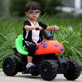 兒童電動車摩托車三輪車寶寶電動汽車甲殼蟲兒童玩具車小孩可坐騎DI