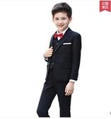 韓版兒童小西裝套裝花童外套主持人男孩禮服大童寶寶男童西服小孩