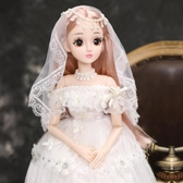 芭比公主伊夢絲芭比60厘米洋娃娃套裝禮盒仿真超大女孩玩具公主大號單個LX  COCO衣巷