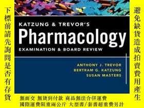 二手書博民逛書店Katzung罕見And Trevor s Pharmacology Examination And Board