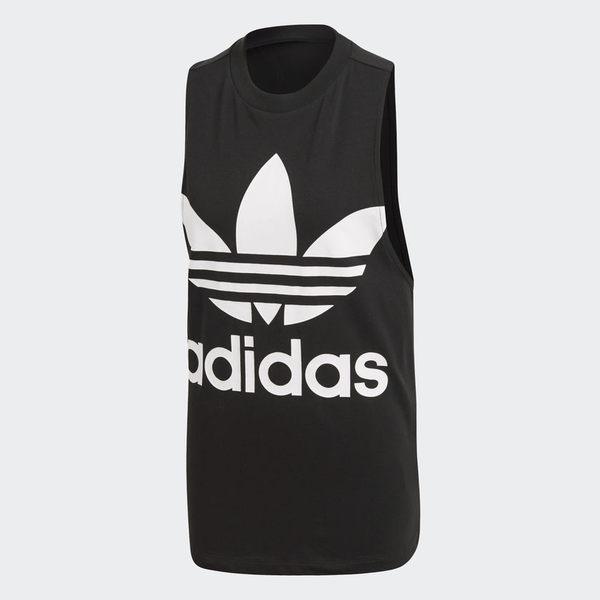 ADIDAS ORIGINALS 女裝 背心 休閒 慢跑 訓練 健身 基本款 黑 白 【運動世界】 CE5578