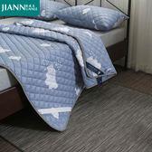保潔墊 四季床墊保護墊床防滑墊背薄床護墊鋪床褥子-免運直出zg