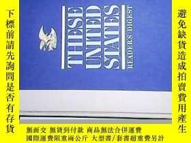 二手書博民逛書店THESE罕見UNITED STATES(美國的地圖冊 8開)【
