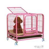 泰迪狗籠子小型犬帶廁所加粗中大型犬金毛狗窩  9號潮人館IGO