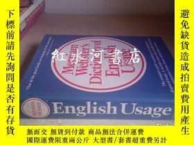 二手書博民逛書店merriam罕見webster s dictionary of