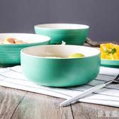 陶瓷家用大號沙拉泡面日式菜碗餐具套裝 JL1590『優童屋』