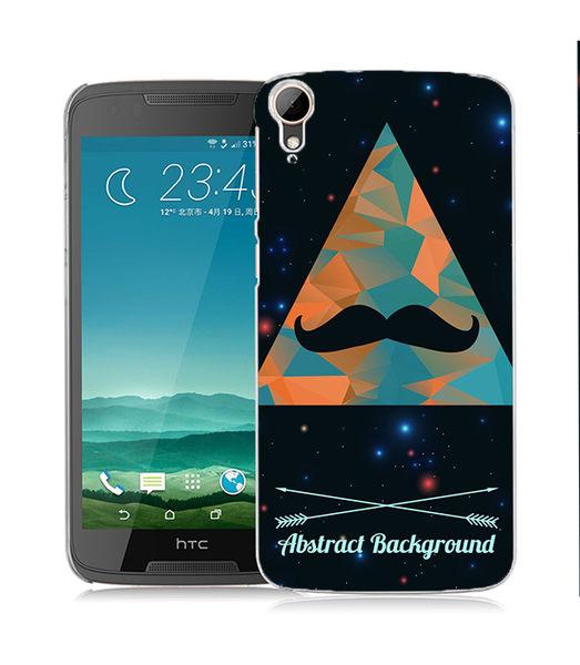 ♥ 俏魔女美人館 ♥ (三角鬍子*水晶硬殼}HTC Desire 828 手機殼 手機套 保護套 保護殼