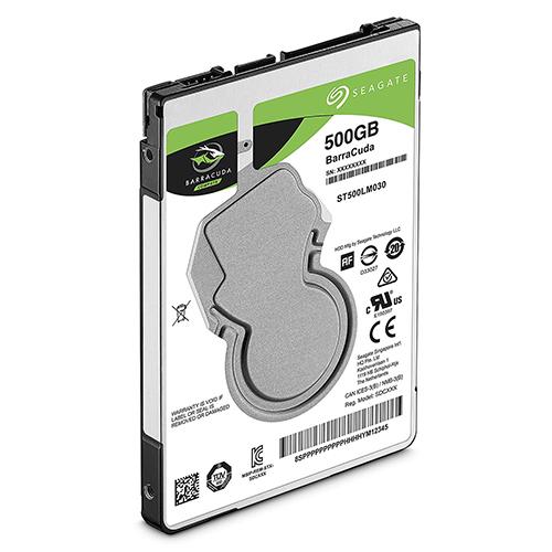 Seagate 新梭魚 BarraCuda 500GB 5400轉 2.5吋 內接硬碟 ST500LM030