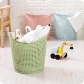 大號塑料臟身籃浴室洗身籃客廳玩具身物收納籃臟身服收納筐