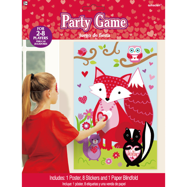 遊戲組-甜蜜森林 valentine_party_favor