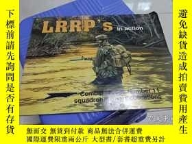 二手書博民逛書店lrrp s罕見in action combat troops number 11 squadron signal