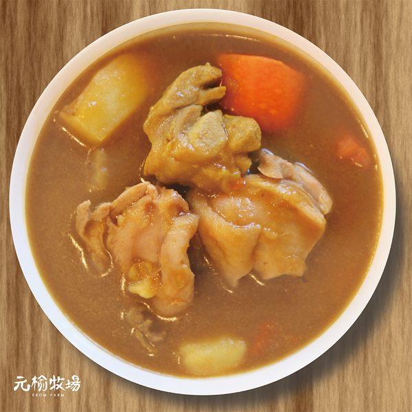 《快速料理》元榆經典日式咖哩雞 甘口(土雞)-1包/350g