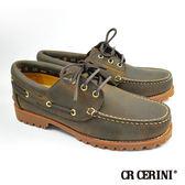 【CR Cerini】雷根底帆船鞋 炭咖(67353-DBRS)