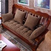 毛絨紅木沙發墊坐墊中式沙發坐墊實木防滑沙發墊飄窗墊加厚可定做