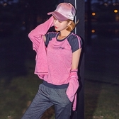 瑜珈服套裝(三件套)-時尚撞色拼接連帽女運動服3色73ry18[時尚巴黎]