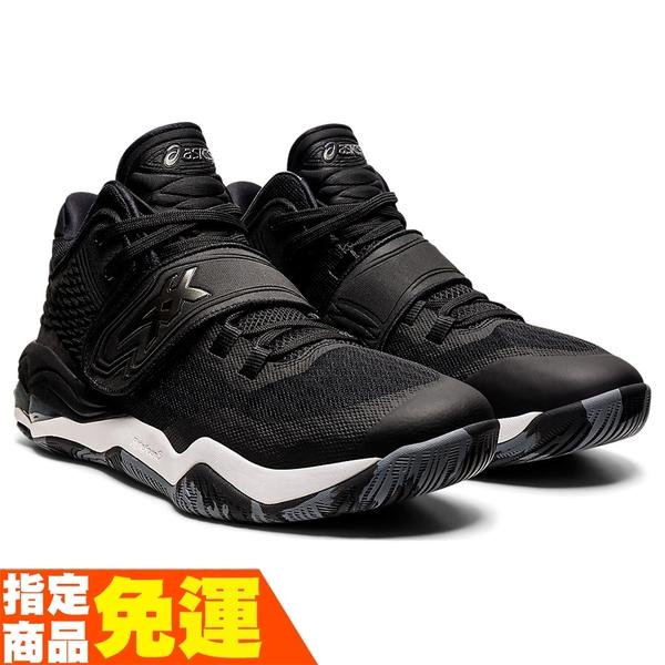 ASICS INVADE NOVA 男籃球鞋 彈跳型 黑 1061A029-002 贈頭帶 21SSO 【樂買網】