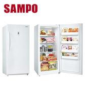 【SAMPO聲寶 391公升直立式無霜冷凍櫃(SRF-390F)*SRF390F下單前先確認是否有貨