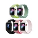 Apple Watch 尼龍錶帶 1 2 3 4 5 6代 38 40 42 44 mm 多彩 iwatch 替換帶 替換錶帶 超多色 蘋果 手錶