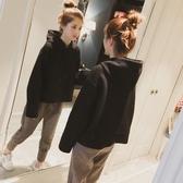 套裝 秋裝胖妹妹微胖大尺碼女裝好康推薦新品洋氣長袖兩件式減齡藏肉運動套組