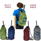 大容量雙肩背桶式羽毛球包網球包籃球包旅游包 挪威森林