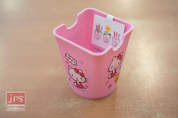 Hello Kitty 多功能筆筒 (粉塗鴉)