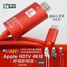 Type-C HDTV 4K轉接線 隨插即用 60Hz 4K手機 高清電視線 MHL Type-C轉HDMI 視頻轉接線