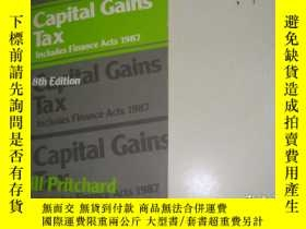二手書博民逛書店Capital罕見Gains Tax Includes Fina