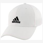 Adidas- 愛迪達男萊克彈力飛彈帽白色