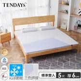 床墊-TENDAYS 5尺6cm厚(標準雙人)-包浩斯紓壓記憶床墊(減壓記憶棉+高Q彈纖維層)